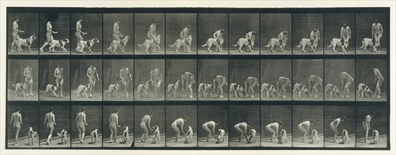 Animal Locomotion. An Electro-Photographic Investigation of Consecutive Phases of Animal Movements. Commenced 1872 - Completed 1885. Volume IV, Women (Nude), 1880s.