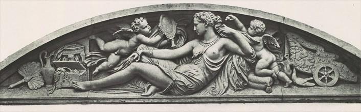 Palais du Louvre et des Tuileries, motifs de décorations tirés des constructions éxécutées au nouveau Louvre et au palais des Tuileries ..., tomes I / II, 1850s-70s.