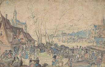 Village Fair, 16th century.