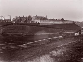 Penitentiary, Richmond, 1865. Formerly attributed to Mathew B. Brady.