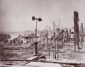 Richmond, Virginia, after Evacuation, 1865. Formerly attributed to Mathew B. Brady.