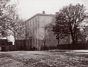 Jeff. Davis House, Executive Mansion, C.S.A., Richmond, 1865. Formerly attributed to Mathew B. Brady.