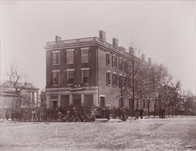 Sanitary Commission Headquarters, Richmond, Virginia, 1865. Formerly attributed to Mathew B. Brady.