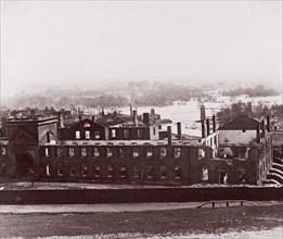 Ruins of Arsenal, Richmond, Virginia, 1865. Formerly attributed to Mathew B. Brady.
