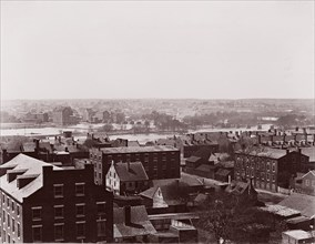 Richmond, Virginia. Looking toward Manchester, ca. 1865. Formerly attributed to Mathew B. Brady.