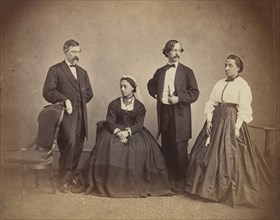 Queen Emma of Hawaii and Her Entourage, 1865.