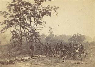 Burying the Dead on the Battlefield of Antietam, September 1862, 1862.