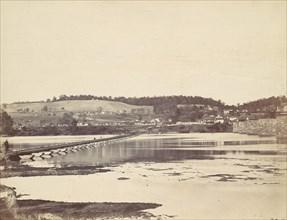 Pontoon Bridge, Across the Potomac, at Berlin, Maryland, November 1862, 1862.