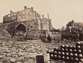 Gardner's Photographic Sketchbook of the War, Volume 2, 1863. Ruins of Arsenal, Richmond, Virginia.