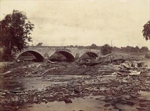 Antietam Bridge, On the Sharpsburg and Boonsboro Turnpike, No. 2, September 1862, 1862.