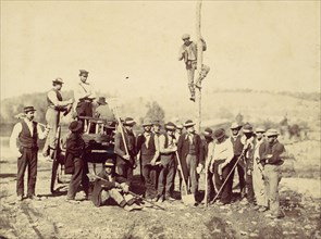Military Telegraphic Corps, Army of the Potomac, Berlin, October 1862, 1862.