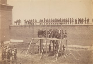 Execution of the Conspirators, July 7, 1865.
