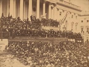 Lincoln Inauguration, March 4, 1865.