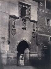 "[Madrid. Facade of the Hospital of ""La Latina""], ca. 1857."