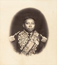 S. M. Norodon, Roi du Cambodge, 1866.