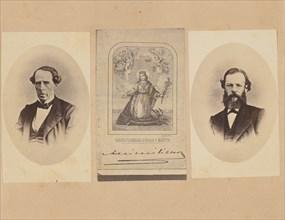 [Baron von Magnus, autograph of Emperor Maximilian of Mexico, Dr. Bosch], 1867.