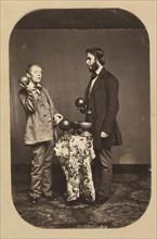 Dr. Joseph Parrish and an Idiot, ca. 1858.