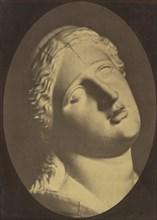 Figure 73: Head of Niobe, 1854-56, printed 1862.