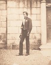 Portrait of a Man in Military Regalia, ca. 1859.