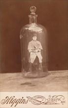 Man in Bottle, ca. 1888.