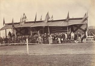 The Grand Stand, Foochow (Fuzhou), ca. 1869.
