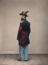 Artillery, Quartermaster Sergeant, 1866.