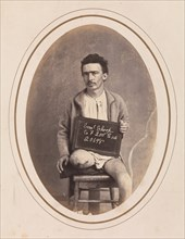 Private Samuel Shoop, Company F, 200th Pennsylvania Infantry, April-May 1865.