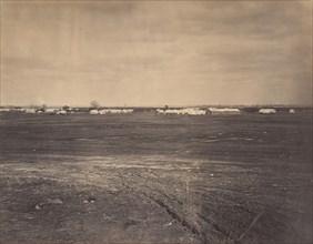 Civil War View, 1860s. (Gen. Hospital Army Potomac, City Point Virginia).