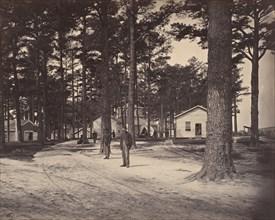 Civil War View, 1860s. (General Hospital fare grounds Petersburg Va.)