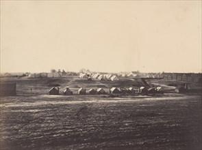 Civil War View, 1860s. (Portion of Govt Hospital army James Point Rocks, Va.)