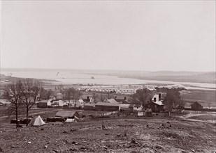 Quartermaster and Ambulance Camp, Brandy Station, Virginia, 1861-65. Formerly attributed to Mathew B. Brady.