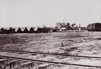 Warren Station, Virginia, 1861-65. Formerly attributed to Mathew B. Brady.