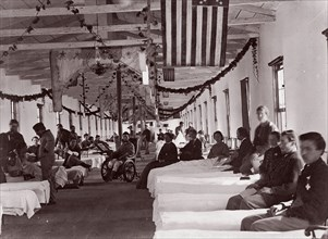Washington. Armory Square Hospital, 1861-65.