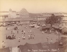 Jaipur, Sanganeer - Ka - Chopal, 1860s-70s.