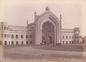 Rumi Darwaza, Lucknow, India, 1860s-70s.