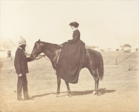 Major Jones and Lady Canning, 1858-61.