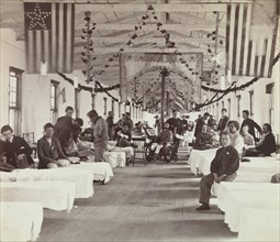 Armory Square Hospital, Washington, 1863-65.