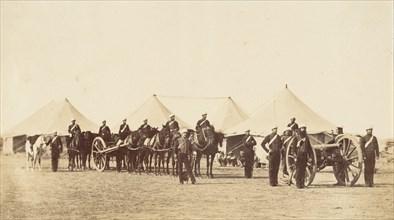 E.Troop Royal Horse Artillery, 1860, 1860.