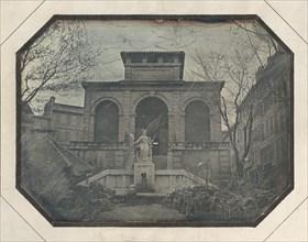 Halle des Capucins, Marché aux Fleurs, Marseille, France, 1839-45.