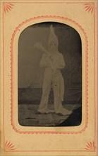 Ku Klux Klansman, ca. 1869.