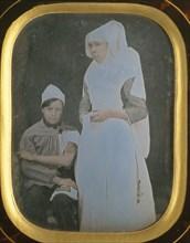 Soeur Pierrette Toussaine Blondeau, Hospices de Beaune, 1845-50.