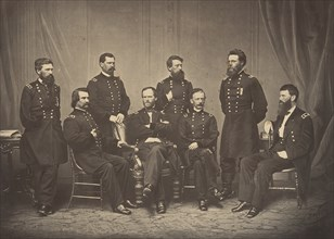 Sherman and His Generals, 1860s.