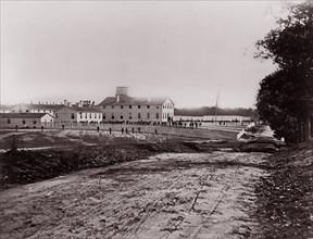 Washington. Harewood Hospital, 1861-65. Formerly attributed to Mathew B. Brady.