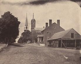 Second Corps Hospital, Washington, D.C., ca. 1863.