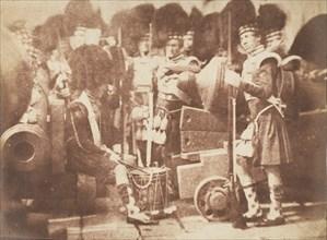 The 42nd Gordon Highlanders, Edinburgh Castle, 1843-47.