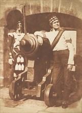 The Porthole / Sergeant and Private of the 42nd Gordon Highlanders, Edinburgh Castle, 1843-47.