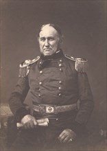 Major General David E. Twiggs, ca. 1859.
