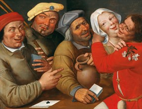 A Merry Company. Creator: Massys (Matsys), Jan (1510-1575).
