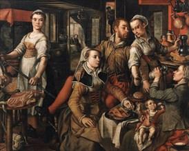 Allegory of Negligence (Allegory of Imprudence), 1563. Creator: Beuckelaer, Joachim (ca. 1533-1574).