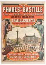 Aux Phares de la Bastille, 1890s. Creator: Anonymous.